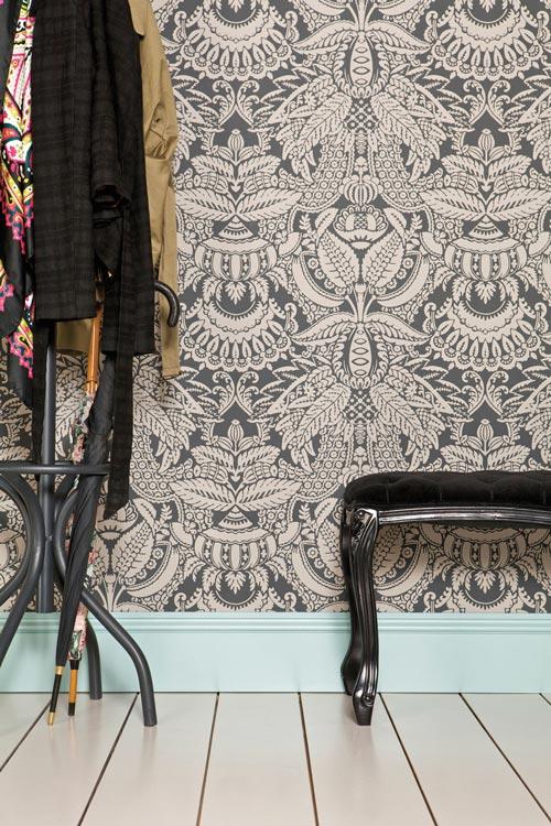 best ll tapeten orangerie fr n farrow ball fa114 02. Black Bedroom Furniture Sets. Home Design Ideas
