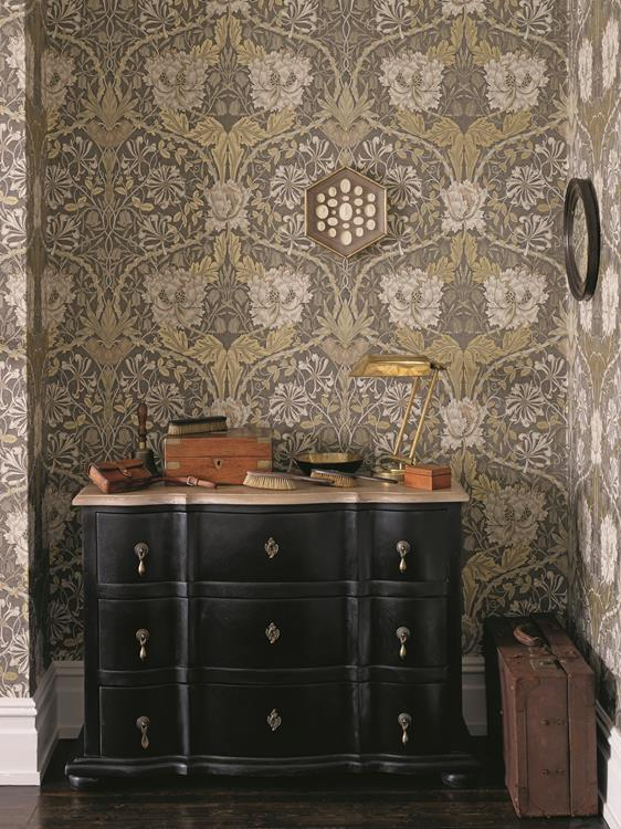 william morris tapeter i handla online. Black Bedroom Furniture Sets. Home Design Ideas