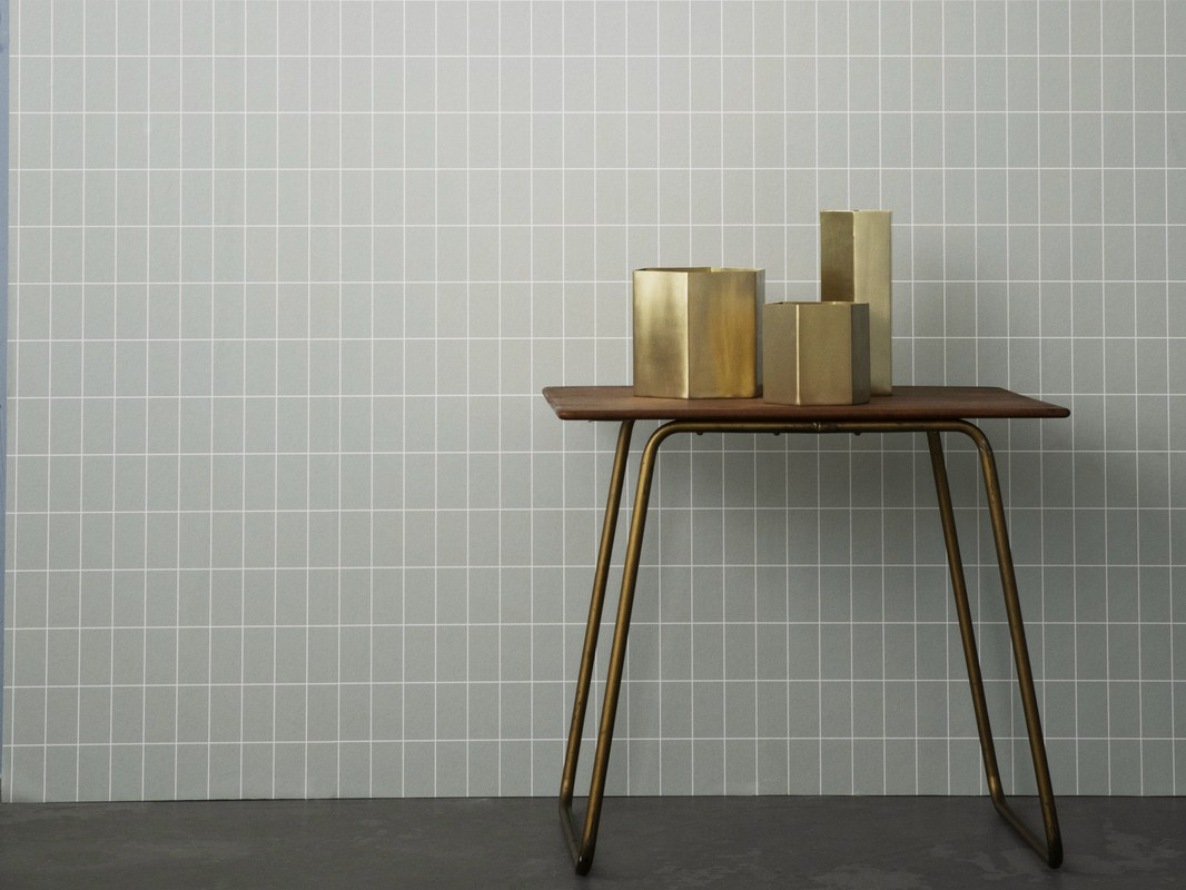Tapeten Grid fran Ferm Living