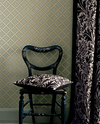 William Morris tapet trellis