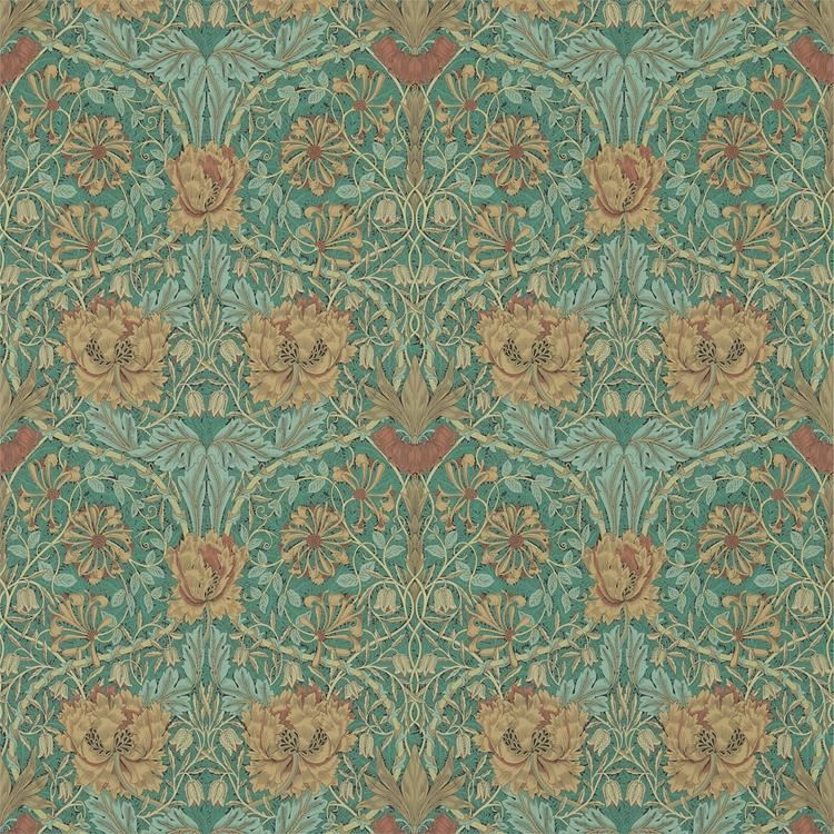 best ll honeysuckle tulip tapet fr n william morris. Black Bedroom Furniture Sets. Home Design Ideas