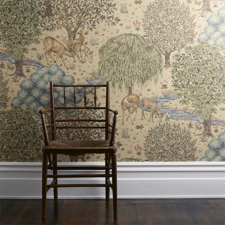 The Brook tapet från William Morris® (WM173-02) 0deb50174b96d