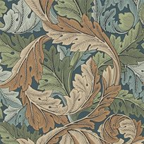 William Morris Acanthus Slate Blue/Thyme
