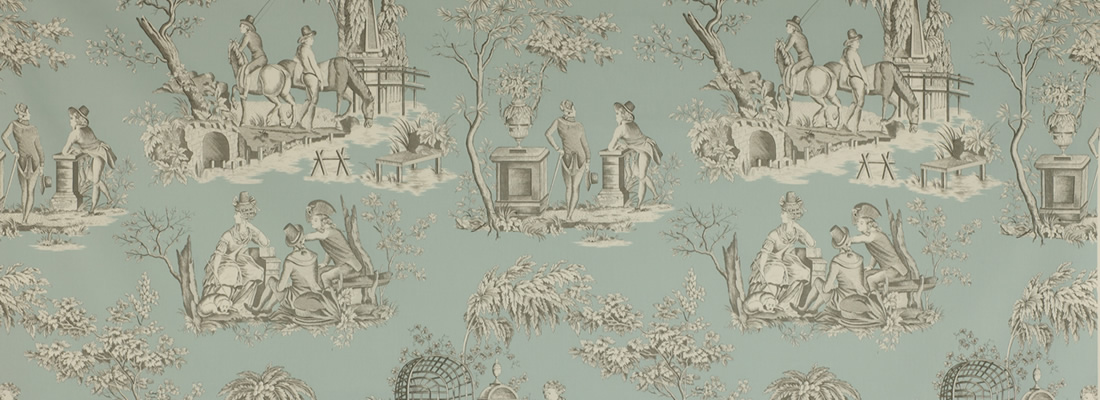 toile de jouy tyger engelska tapetmagasinet. Black Bedroom Furniture Sets. Home Design Ideas