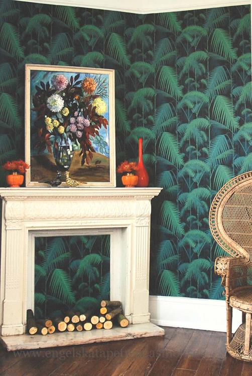 Cole & Son Palm Jungle Miljöbild