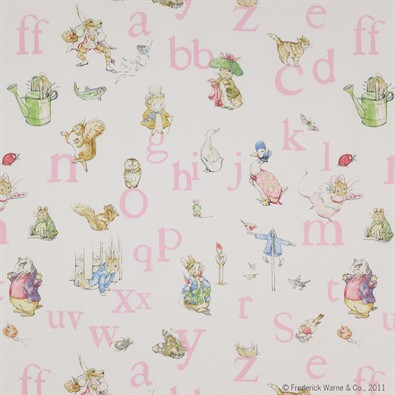 Jane Churchill Alphabet Beatrix Potter Miljöbild