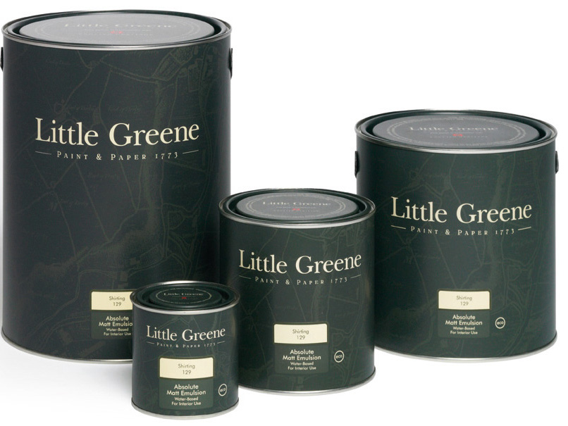 Little Greene Dark Lead Colour 118 Miljöbild