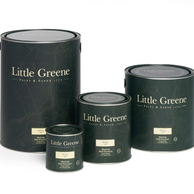Little Greene Pleat 280 Miljöbild
